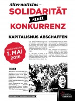 1.Mai-Zeitung erschienen!