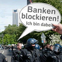 Blockupy Aktionstage 2014