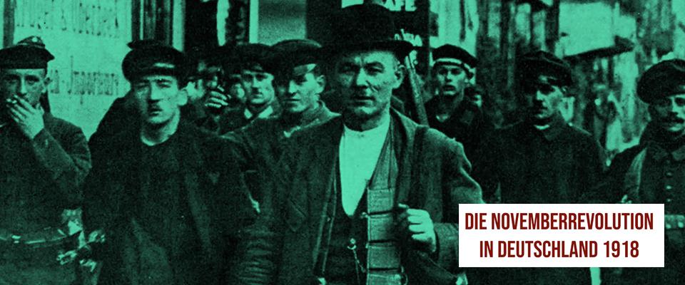 Broschüre zur Novemberrevolution
