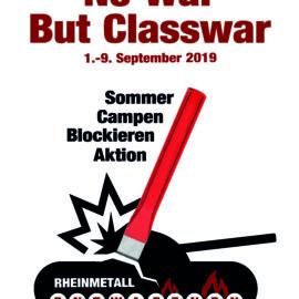 No War But Classwar – Rheinmetall entwaffnen