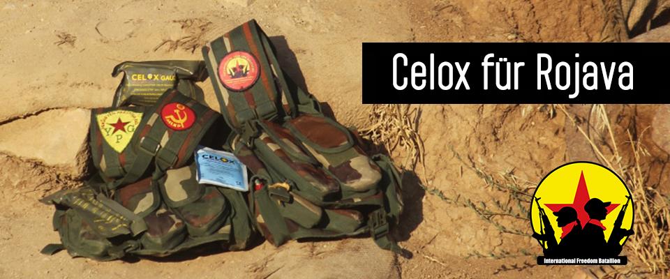 Celox für Rojava und das Internationale Freiheitsbataillon