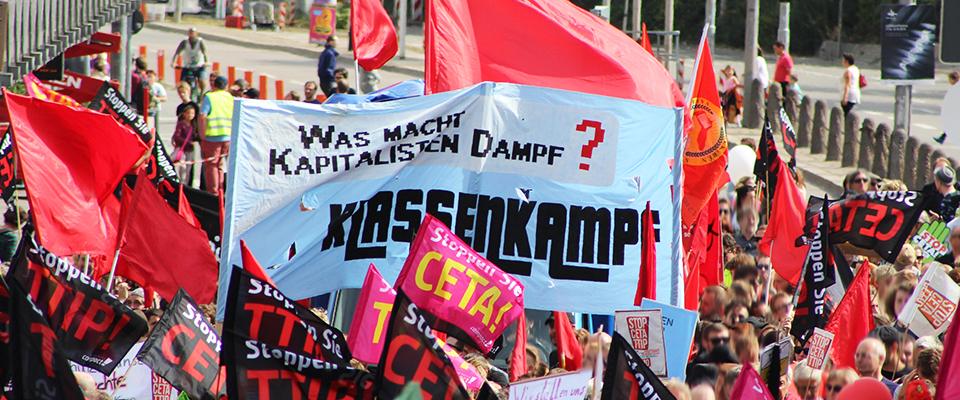 TTIP, CETA - Auf den Müllhaufen der Geschichte!